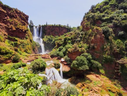 Ouzond Waterfalls - Visit Morocco